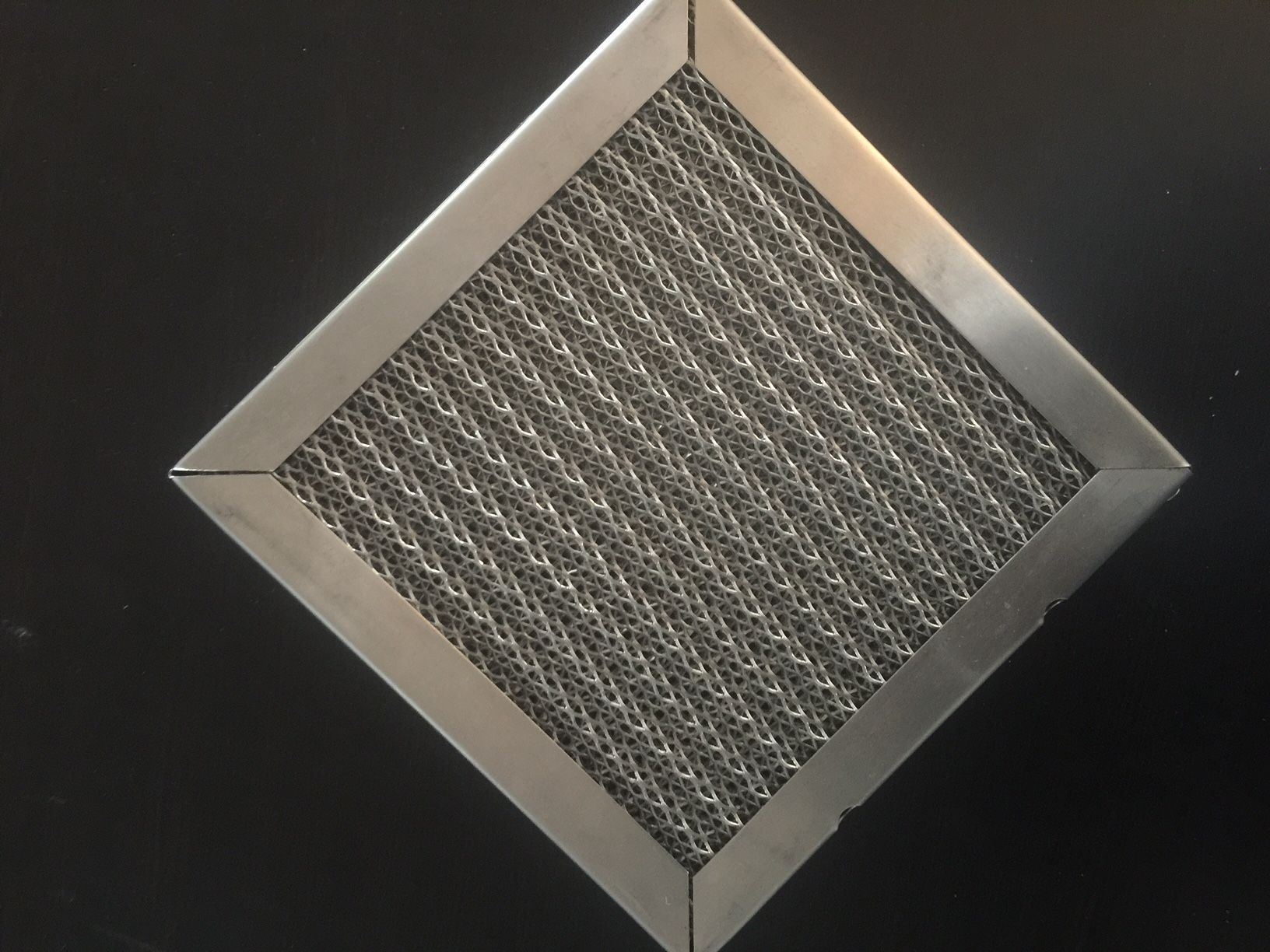Standard quot stainless steel washable filter metal